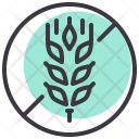 Wheat Gluten Free Icon