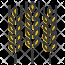 Wheat Crop Grain Icon