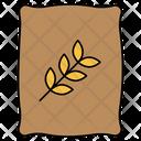 Wheat Bag Wheat Grain Icon