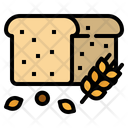 Bread Whole Wheat Icon