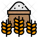 Wheat Flour Farm Icon