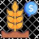 Wheat Price Icon