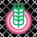 Wheatear Icon