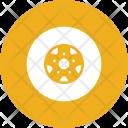 Wheel Tire Tyre Icon