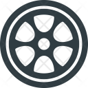 Wheel Component Part Icon