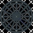 Rear Wheel Component Icon