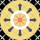 Wheel Ship Sport Icon