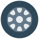 Wheel Tire Rim Icon