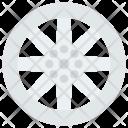 Wheel Rim Gear Icon
