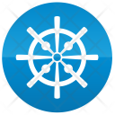 Driver Wheel Yachting Icon