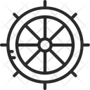Wheel Steering Boat Icon