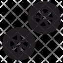 Truck Tires Wheel Icon