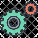 Wheel Gear Business Icon