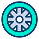 Tire Tyre Disk Icon