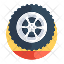 Wheel Tyre Automobile Wheel Icon