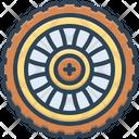Wheel Automobile Car Icon