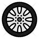 Wheel Tires Car Icon
