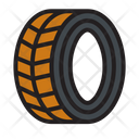 Automobile Tire Transportation Icon