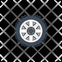 Wheel Tire Transport Icon
