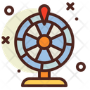Wheel Casino Game Icon