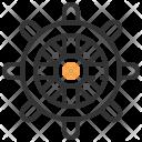 Wheel Decoration Design Icon