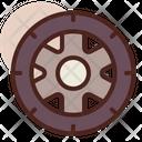Wheel Wheel Disc Alloyewheel Icon