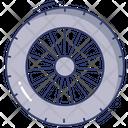 Wheel Tire Riding Icon