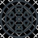 Wheel Car Component Icon