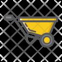 Wheel Barrow Agriculture Icon