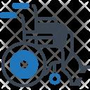 Wheel Chair Armchair Icon