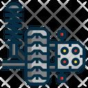 Wheel Alignment Maintenance Icon