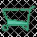 Wheel Barrow Farm Agriculture Icon