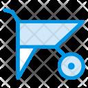 Wheel Barrow Cart Icon