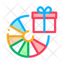 Wheel Fortune Gift Icon