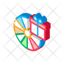 Gift Fortune Wheel Icon