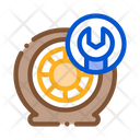 Wheel Maintenance Icon