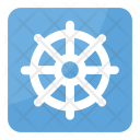 Wheel Dharma Dharmachakra Icon