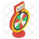 Fortune Wheel Spinning Wheel Prize Wheel Icon
