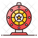 Wheel Of Fortune Prize Wheel Gambling Icon