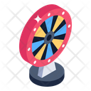 Prize Wheel Gambling Casino Icon