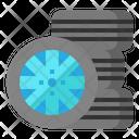 Whell Rim Tire Icon