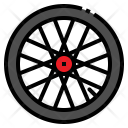 Wheel Rim Deep Icon