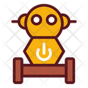 Wheel robot Icon