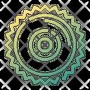Wheel Saw Icon