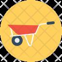 Wheelbarrow Barrow Cart Icon