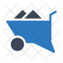 Wheelbarrow Construction Mine Icon