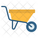 Wheelbarrow Cart Trolley Icon
