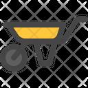 Wheelbarrow Cart Wheel Icon