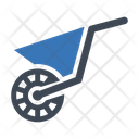 Wheelbarrow Construction Handtruck Icon