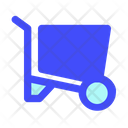 Wheelbarrow Equipment Work Icon